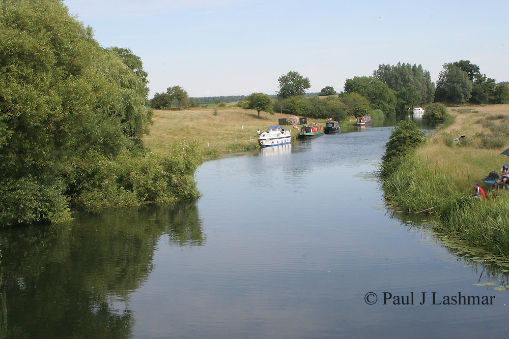 The village of Fothinghay on the river Nene in Northamptonshire.<br /> The now destroyed castle was the location for the execution of Mary Queen of Scots