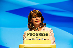 Pictured: Leanne Wood, AM, Leader of Plaid Cymru Party Of Wales<br /> The members of the SNP gathered in the Scottish Events Centre in Glasgow for their annual conference.<br /> <br /> The Ger Harley | EEm 9 October 2017