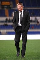 L'allenatore della Roma Zdenek Zeman controlla lo stato del campo prima della partita<br /> Roma 19/11/2012 Stadio Olimpico<br /> Football Calcio 2012/2013 Serie A<br /> Roma Vs Torino<br /> Foto Andrea Staccioli Insidefoto