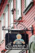 Emma's Drommekjokken, famous Norwegian restaurant in the city of Tromso in the Arctic Circle in Northern Norway