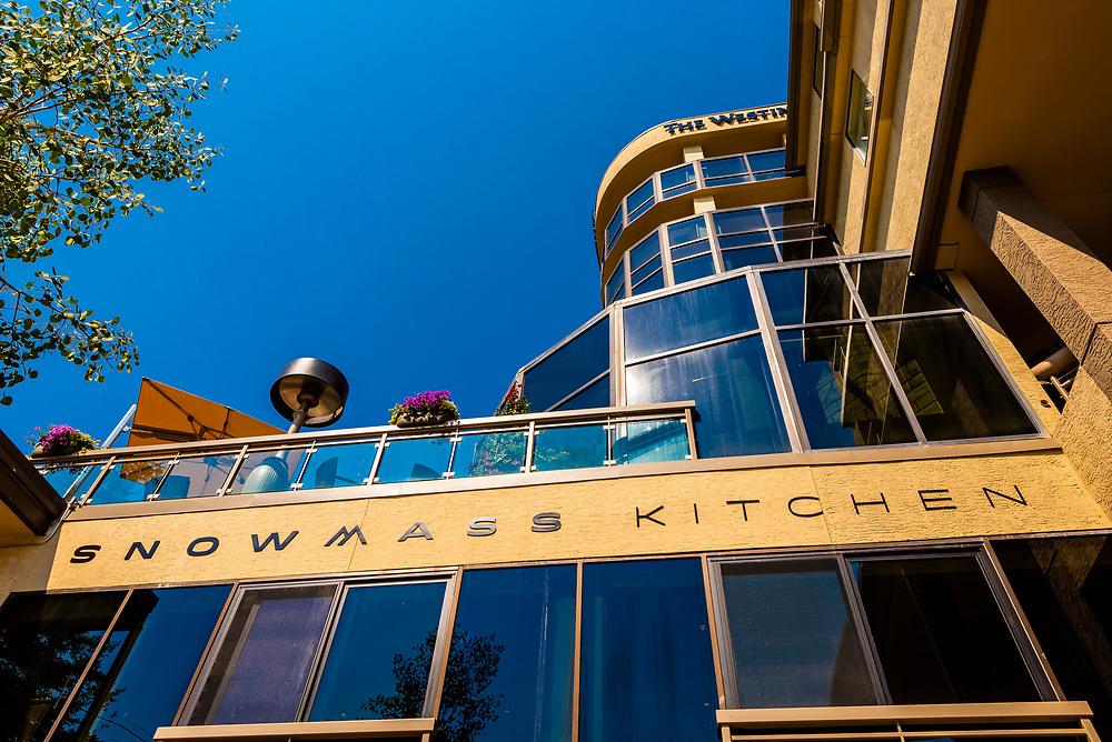 Snowmass Kitchen and Westin Snowmass Resort, Snowmass Village (Aspen), Colorado USA.