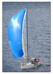 The third days racing at the Bell Lawrie Yachting Series in Tarbert Loch Fyne ..Perfect conditions finally arrived for competitors on the three race courses...Class one's IRL12345 Tiamat a Mills 40