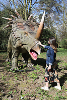 Jurassic Kingdom: Where Dinosaurs Come To Life, Osterley Park, London UK, 31 March 2017, Photo by Richard Goldschmidt