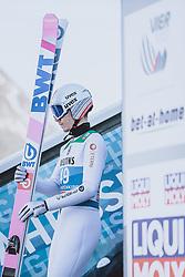 31.12.2020, Olympiaschanze, Garmisch Partenkirchen, GER, FIS Weltcup Skisprung, Vierschanzentournee, Garmisch Partenkirchen, Qualifikation, Herren, im Bild Johann Andre Forfang (NOR) // Johann Andre Forfang of Norway during qualification jump of men's Four Hills Tournament of FIS Ski Jumping World Cup at the Olympiaschanze in Garmisch Partenkirchen, Germany on 2020/12/31. EXPA Pictures © 2020, PhotoCredit: EXPA/ JFK