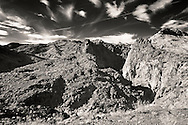Boy Scout Canyon just outside of Las Vegas, NV, by Black Canyon and the Colorado River.  Shoot in infrared.