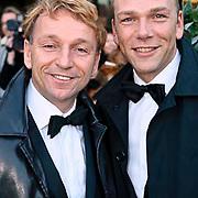 NLD/Zaandam/20081207 - Premiere Op Hoop van Zegen, Dick Cohen en partner Daan Wijnands