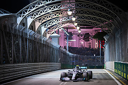 September 20, 2019, Singapore, Singapore: Motorsports: FIA Formula One World Championship 2019, Grand Prix of Singapore, .#77 Valtteri Bottas (FIN, Mercedes AMG Petronas Motorsport) (Credit Image: © Hoch Zwei via ZUMA Wire)