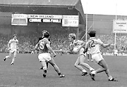 Kerry are beaten for five-in-a-row by Offaly in Croke park in 1982.<br /> Picture by Don MacMonagle