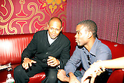 Congressional Candidate Kevin Powell and Chris Rock at An evening with Dave Chappelle for Kevin Powell for Congress held at Eugene's on July 9, 2008..Kevin Powell runs as a Democratic Candidate for Congress in Brooklyn's 10th Congressional District
