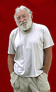 Campaigning British naturalist David Bellamy, pictured at the Edinburgh International Book Festival where he talked about his autobiography 'Jolly Green Giant'. The Book Festival is the world's biggest literary festival with appearances by over 500 authors from across the world..