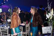 OLIVIA WALKER; GEORGINA BESENT; , Quorn Hunt Ball, Stanford Hall. Standford on Soar. 25 January 2014