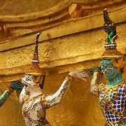 Detail at Bangkok's Imperial palace