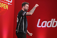 Ross Smith wins his match against Dawson Murschell during the Ladrokes UK Open 2019 at Butlins Minehead, Minehead, United Kingdom on 1 March 2019.