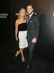 Celebrities are seen attending the special screening of Focus Features' 'Nocturnal Animals' at the Hammer Museum in Los Angeles. 11 Nov 2016 Pictured: Aaron Taylor-Johnson, Sam Taylor-Johnson. Photo credit: Bauer Griffin / MEGA TheMegaAgency.com +1 888 505 6342