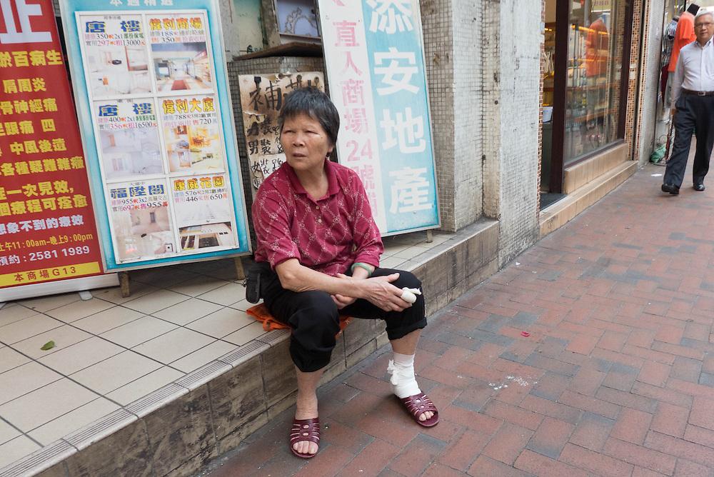 Hong Kong City Street Scenes, China