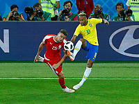 Neymar (Brazil) and Sergej Milinkovic-Savic (Serbia) <br /> Moscow 27-06-2018 Football FIFA World Cup Russia  2018 <br /> Serbia - Brazil / Serbia - Brasile<br /> Foto Matteo Ciambelli/Insidefoto