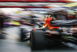 September 14, 2018 - Singapore, Singapore - Motorsports: FIA Formula One World Championship 2018, Grand Prix of Singapore, .#33 Max Verstappen (NLD, Aston Martin Red Bull Racing) (Credit Image: © Hoch Zwei via ZUMA Wire)