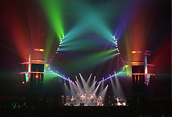 "The Grateful Dead perfoming ""Space"" at the Nassau Coliseum, Uniondale NY, 30 March 1990. Wide Lighting Look Image Capture."