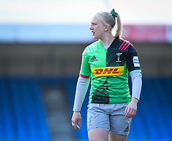 Heather Cowell of Harlequins - Mandatory by-line: Andy Watts/JMP - 06/02/2021 - Sandy Park - Exeter, England - Exeter Chiefs Women v Harlequins Women - Allianz Premier 15s