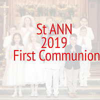 St Ann 2019 First Communion