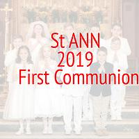 St Ann 1st Communion Cover Slide