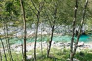 Soča Valley near Kobarid, Juliana Trail, Slovenia © Rudolf Abraham