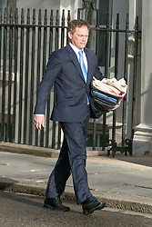 © Licensed to London News Pictures. 08/04/2014. London, UK Grant  Shapps arrives at the Cabinet Meeting 8th April 2014. Photo credit : Stephen Simpson/LNP