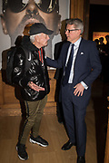 NICKY HASLAM, JUSSI PYLKHANEN, The George Michael Collection drinks.  Christie's, King St. London, 12 March 2019