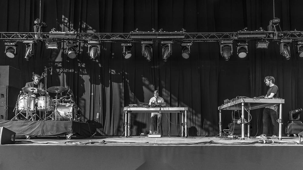 German techno-project Brandt Brauer Frick at Haldern Pop Festival