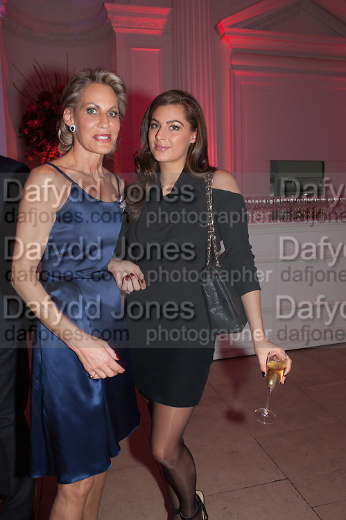 LEONIE FRIEDA; LILY FRIEDA, Leonie Frieda book party  for ' The Deadly Sisterhood.' The Orangery, Kensington Palace. London. 20 November 2012.