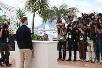 Actor and singer Justin Timberlake faces photographers at the Coen brother's new film 'Inside Llewyn Davis' photocall at the Cannes Film Festival Sunday 19th May 2013