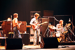 The Band performing at the Westchester Premier Theater 13 July 1976. Shot from my seat. I would love know the set list, with that I could possibly give you a song they were playing during this photo.