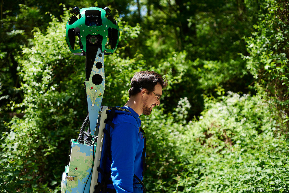 The launch of the Google Trekker project in Fairmount Park<br /> Belmont Plateau<br /> May 16, 2016