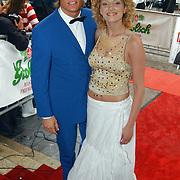 Premiere About a boy, Winston Post met vriendin Denise van Rijswijk