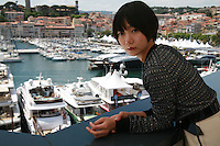 Actress Doona Bae from the film Dohee-ya, A Girl At My Door, at the 67th Cannes Film Festival, Tuesday 20th May 2014, Cannes, France.