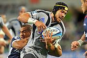 Jayden Hayward (HUR)<br /> Melbourne Rebels v The Hurricanes<br /> Rugby Union - 2011 Super Rugby<br /> AAMI Park, Melbourne VIC Australia<br /> Friday, 25 March 2011<br /> © Sport the library / Jeff Crow