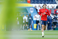 Paris Saint Germain's Uruguayan forward Edinson Cavani warms up before the French Championship Ligue 1 football match between Paris Saint-Germain and Girondins de Bordeaux on September 30, 2017 at the Parc des Princes stadium in Paris, France - Photo Benjamin Cremel / ProSportsImages / DPPI