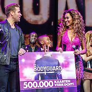 NLD/Utrecht/20160914 - The Bodyguard 1 jarig bestaan, Dave Mantel en Romy Monteiro