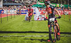 08.09.2018, Lienz, AUT, 31. Red Bull Dolomitenmann 2018, im Bild Durogati Aaron (ITA, Pure Encapsulations), Longo Tony (ITA, Pure Encapsulations) // Durogati Aaron (ITA, Pure Encapsulations), Longo Tony (ITA, Pure Encapsulations) during the 31th Red Bull Dolomitenmann. Lienz, Austria on 2018/09/08, EXPA Pictures © 2018, PhotoCredit: EXPA/ JFK