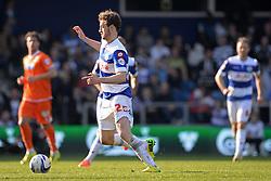 QPR's forward Will Keane  - Photo mandatory by-line: Mitchell Gunn/JMP - Tel: Mobile: 07966 386802 29/03/2014 - SPORT - FOOTBALL - Loftus Road - London - Queens Park Rangers v Blackpool - Championship