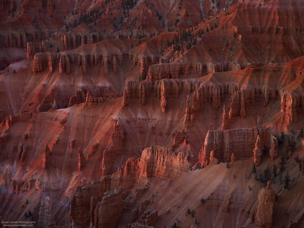 Twilight on the hoodoos of Cedar Breaks National Monument