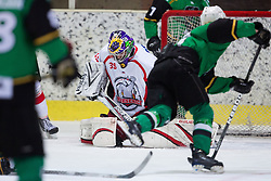 Jure Pavlic of Jesenice during Erste Bank Young Stars League ice hockey match between HD Jesenice Mladi and HK Olimpija, on November 4, 2012 in Ledena dvorana Bled, Bled, Slovenia. (Photo by Matic Klansek Velej / Sportida.com)