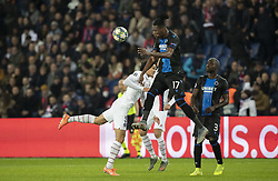 Simon DELI from BRUGES In action during the UEFA Champions League Group A football match Paris Saint-Germain (PSG) v Club Brugge at the Parc des Princes stadium in Paris, France, on November 6, 2019. Photo by Loic BaratouxABACAPRESS.COM