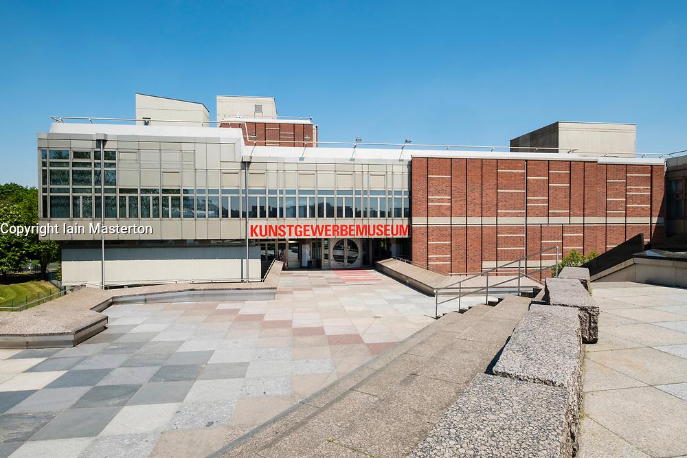 Exterior view of Kunstgewerbemuseum atKulturforum complex of museums in Berlin Germany