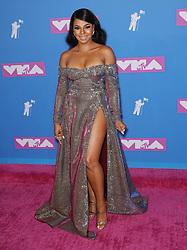 August 21, 2018 - New York City, New York, USA - 8/20/18.Ashanti at the 2018 MTV Video Music Awards at Radio City Music Hall in New York City. (Credit Image: © Starmax/Newscom via ZUMA Press)