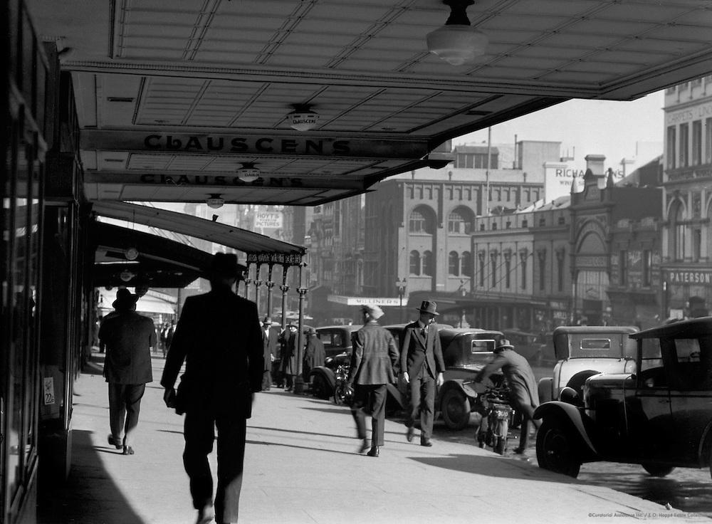Collins Street (Medical Quarter), Melbourne, Australia, 1930