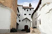 Convent of Isabel la Real<br /> in the Moorish Albaycin district of Granada, Andalucia