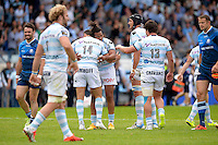 Joie Juan Imhoff / Teddy Thomas - 23.05.2015 - Racing Metro / Castres - 26e journee Top 14<br />