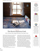 Editorial photography for National Geographic Traveler Magazine at Johnny Cash's boyhood home in Dyess, Arkansas.