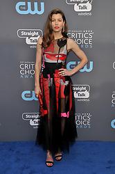 Jessica Biel at The 23rd Annual Critics' Choice Awards held at the Barker Hangar on January 11, 2018 in Santa Monica, CA, USA (Photo by Sthanlee B. Mirador/Sipa USA)